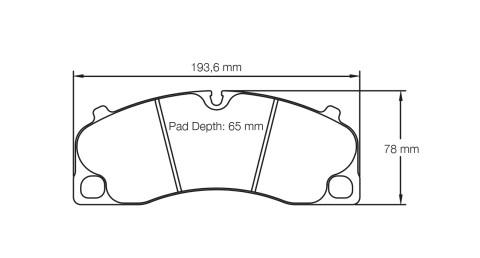 PAGID RACING Bremsbeläge Satz U4908-RS29