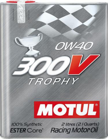 MOTUL 300V TROPHY 0W40 - 2L