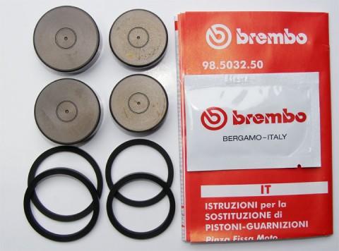 Brembo Dichtsatz mit Kolben für Axial-Bremszangen P4 30/34 CNC