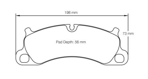 PAGID RACING Bremsbeläge Satz U4922-RS29