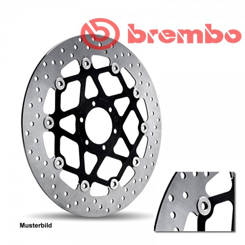 Brembo Bremsscheibe Oro 68B407C8