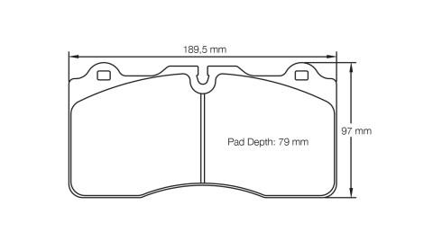 PAGID RACING Bremsbeläge Satz U4945-RSC1