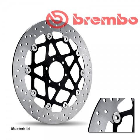 Brembo Bremsscheibe Oro 68B40749