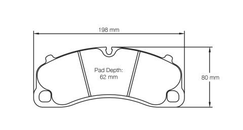 PAGID RACING Bremsbeläge Satz U4924-RS29