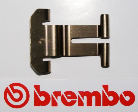 Brembo Federblech für Beläge, M4 Mono, GP4 RX